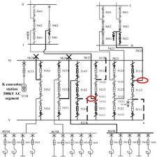the receiving end converter station 500kv segment power grid wiring the receiving end converter station 500kv segment power grid wiring diagram