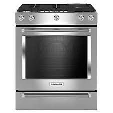Plain Kitchenaid 5 Burner Gas Grill Dual Fuel Convection Slidein Range With Baking To Design Inspiration