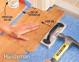 Best Hardwood Floor Installation Tips How To Lay Laminate Flooring The  Family Handyman