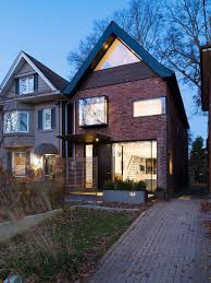Early S Toronto Home With A Glassy Modern Renovation - Exterior house renovation