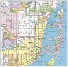 Image result for free map of miami