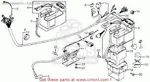 1980 honda express wiring diagram 1979 yamaha 175 it wiring battery cables walmart at Car Battery Wiring Harness