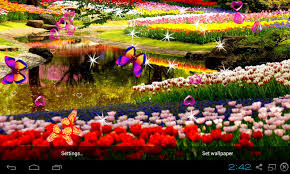 3d garden live wallpaper screenshot 3 5