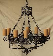 lighting charming spanish wrought iron chandelier 0 chandeliers spanish style wrought iron chandelier