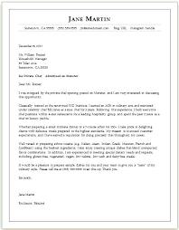 Chef Cover Letter Informal Email Format Sample Getvenue Co