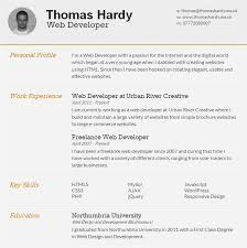 Free Html Resume Templates 25 Free Html Resume Templates For Your