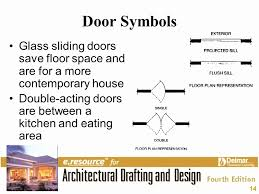 sliding door floor plan lovely how to draw sliding glass doors in