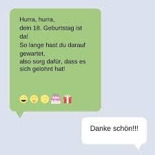 Glückwünsche Zum 18 Geburtstag Witzige Sprüche Zum 18 Geburtstag