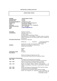 Curriculum Vitae Ejemplos De Mozo Resume Pdf Download