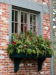 Christmas Window Box Decorations Top 100 Outdoor Christmas Decoration Ideas From Pinterest 51