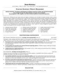It Procurement Manager Procurement Manager Format Resume Sourcing