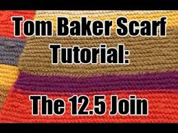 Dr Who Scarf Pattern Adorable Doctor Who Tom Baker Scarf Tutorial The 4848 Join YouTube