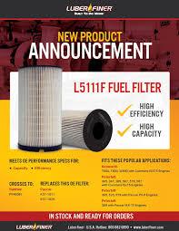 Oil Filter Fitment Chart Luberfiner Brochures Luberfiner