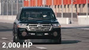 Toyota Land Speed Cruiser 2,000 hp / 220mph - YouTube