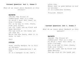 essay questions on macbeth essay topics macbeth english literature Essay On  Aviation Essays On Cloning Marijuana