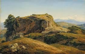 Hilly landscape, Auvergne