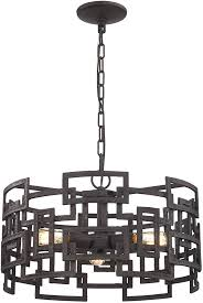 modern drum pendant lighting. elk 143333 garriston modern clay iron drum pendant lighting loading zoom i