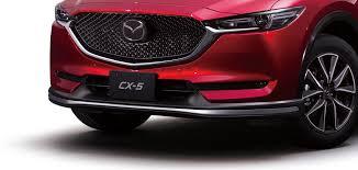 Тюнинг MAZDA CX 5 2017- <b>Накладка губа на</b> низ переднего ...