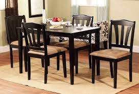 Breakfast sets furniture Space Saver Piece Dining Set Wood Breakfast Furniture Chairs And Seater Dining Room Table And Theramirocom Piece Dining Set Wood Breakfast Furniture Chairs And High Back