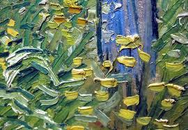 van gogh brush strokes van brush strokes by van gogh painting technique van gogh sunflowers brush strokes