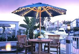 unique offset patio umbrella with solar lights for solar light patio umbrellas fashionable outdoor umbrella lights