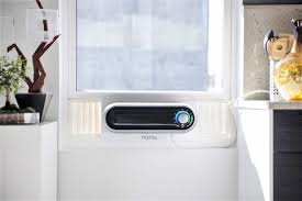 first home air conditioner. noria was designed to address all the pain points of current window air conditioners. from beautiful design easy installation remote connectivity and first home conditioner