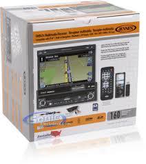 jensen vm9414 in dash gps navigation 7 monitor dvd player product jensen vm9414