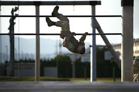 u s department of > photos > photo essays > essay view u s marine corps lance cpl donald f marshall dismounts one obstacle during the two