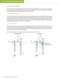 Through Bolt Design In Concrete Ppm High Strength Anchor Bolt Pdf Free Download