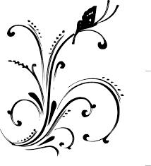 Heart Scrolls Free Scroll Heart Clipart Image 8