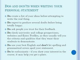 How to Write a Winning UCAS Personal Statement  Daily Telegraph     SlideShare