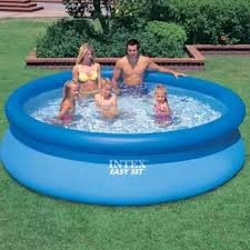 swimming pool. Perfect Swimming Intex Easy Set Aboveground Swimming Pool 8u0027 X 30 And