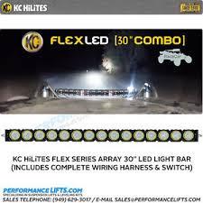 kc hilites flex series 30\