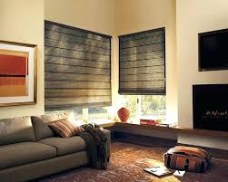 White Modern Living Room Stunning Houzz Roman Shades Living Room For Windows Bamboo In Window Blinds