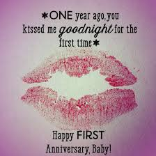 First Anniversary Quotes And Messages For Him And Her Holidappy Beauteous One Year Complete Engagement Status Hubby