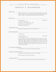 Best Sample Resume Inspirational New Blank Resume Format Resume