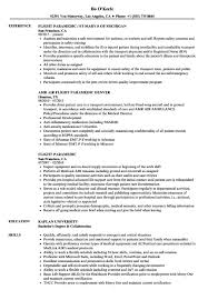 Paramedic Resume Cover Letter Paramedic Resume Extraordinary Paramedic Resume Templates Best Of 32