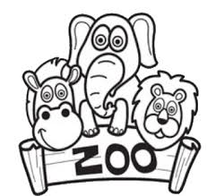 z is for zoo coloring page. Zoo Color Pages To Is For Coloring Page