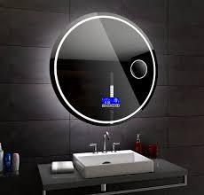 Badspiegel Mit Mit Mit Led Beleuchtung Wandspiegel London Rund