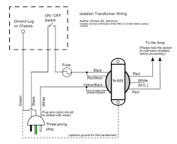 isolation transformer upgrade for old guitar amps 11 steps picture of the plan
