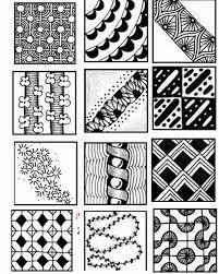 Zentangle Patterns Easy Best Decoration
