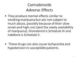 marinol side effects