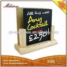 Wooden Menu Display Stands Restaurant Menu Display Stand wood Menu Holder Mini Chalkboard 46