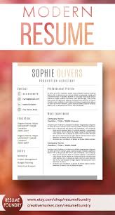 Beautiful Cv Template Word Resume Template For Word 1 3 Page Resume Cover Letter
