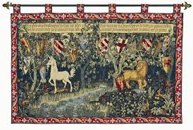 knights of the round table tapestry