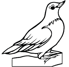 Bird Coloring Page Cute Hummingbird Pages T And Friends Free