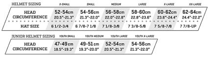 Protec Size Chart Protec Helmets Size Guide Tripodmarket Com