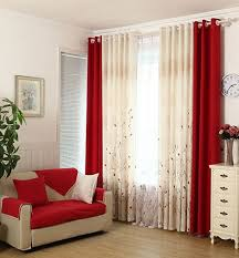 Curtains ~ Best Red Curtains Ideas On Pinterest Farmhouse Kitchen Deep For  Living Room Black And 96 Fantastic Red Curtains For Living Room.