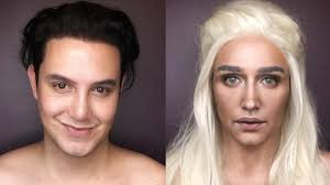 this man s makeup transformations into game of thrones characters are insane self