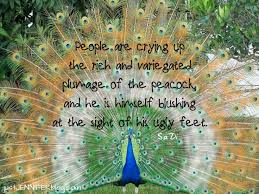 Peacock Beauty Quotes Best of Quotes About Peacock 24 Quotes